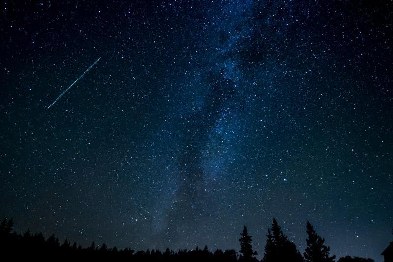 De meteorenzwerm Boötiden luidt 2019 in (Foto ter illustratie ©Pexels)