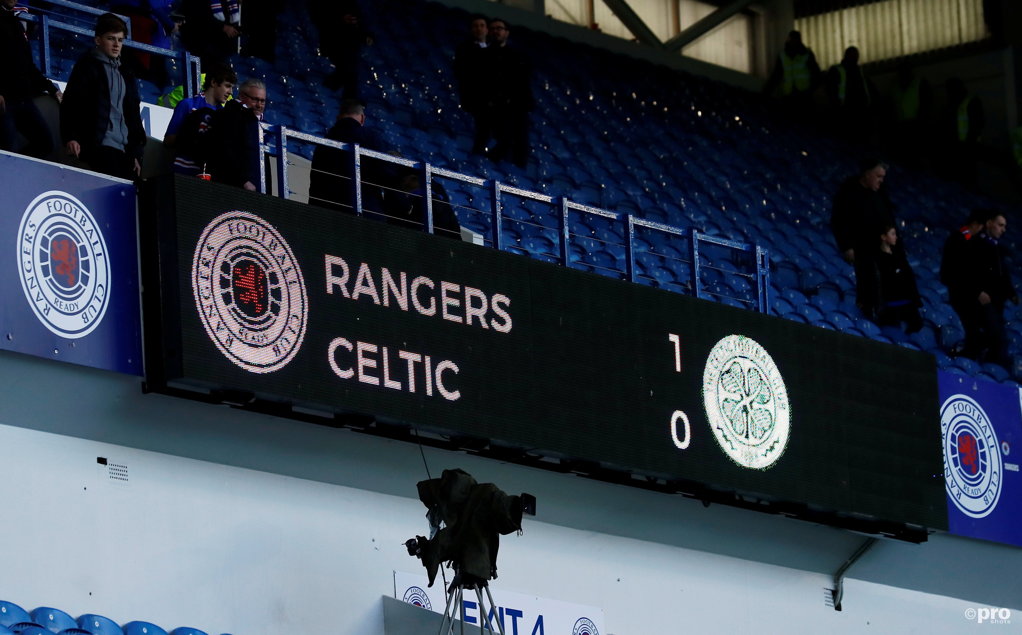 Rangers - Celtic. (PRO SHOTS/Action Images)