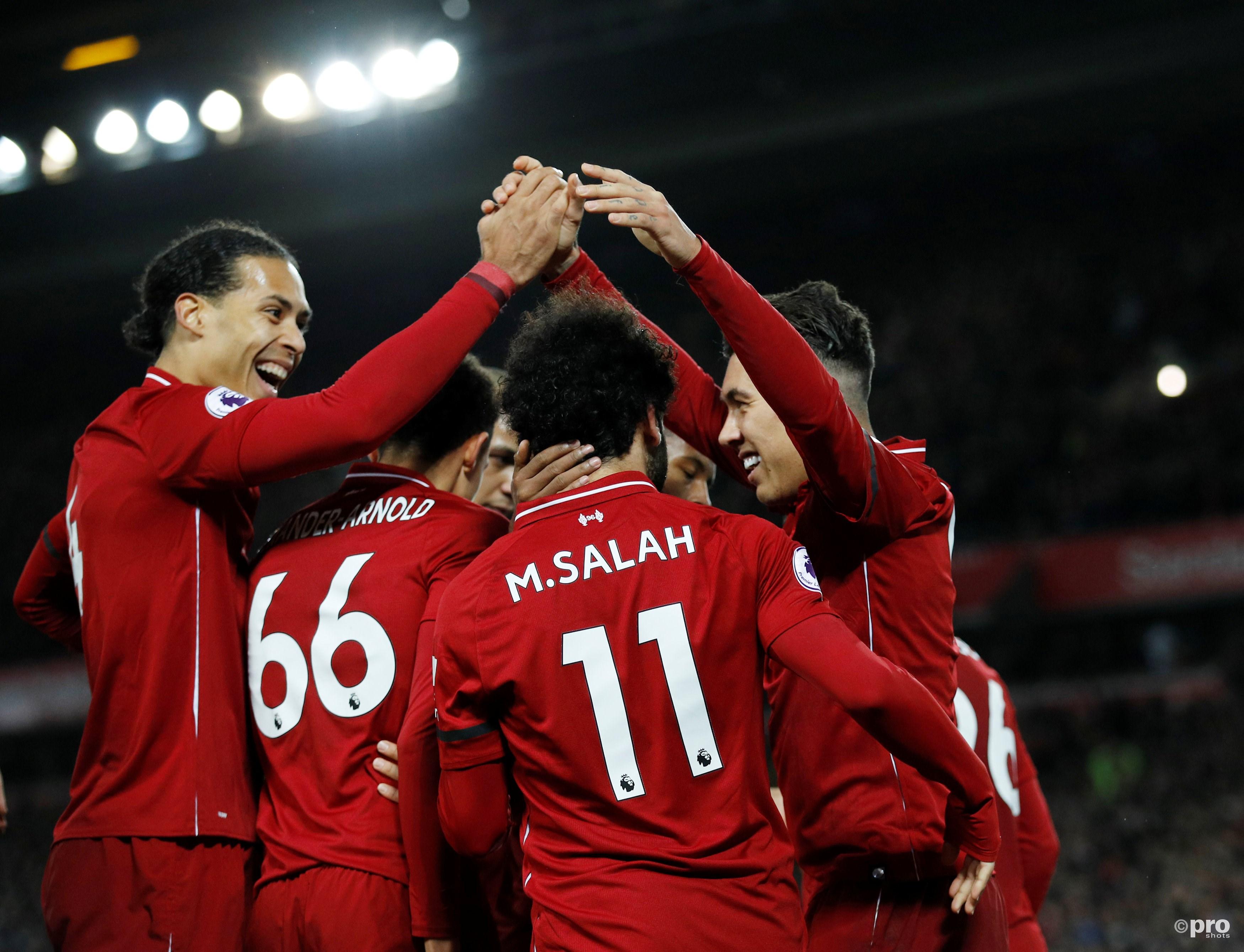 Liverpool staat negen punten los. (PRO SHOTS/Action Images)