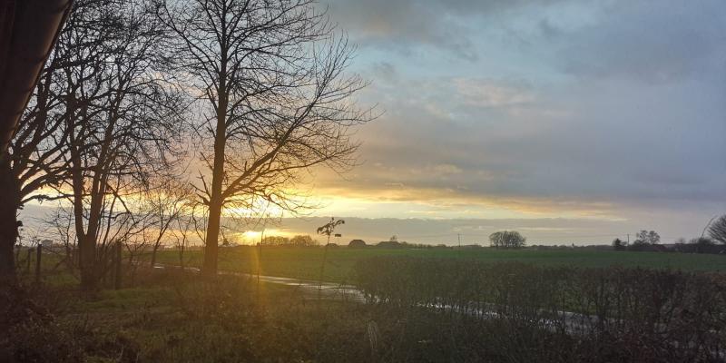 Zie de zon schijnt... (Foto: DJMO)