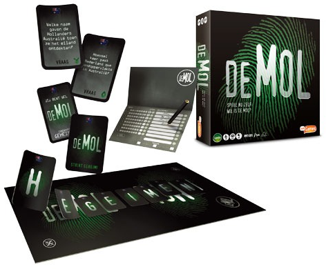 WIN! Wie Is De Mol bordspellen van JustGames!