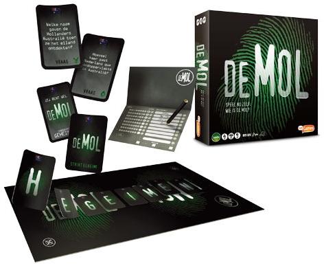 WIN! Wie Is De Mol bordspellen van JustGames!