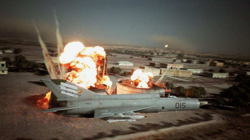 Ace Combat 7: Unknown Skies - Ground Target (Foto: Bandai Namco)