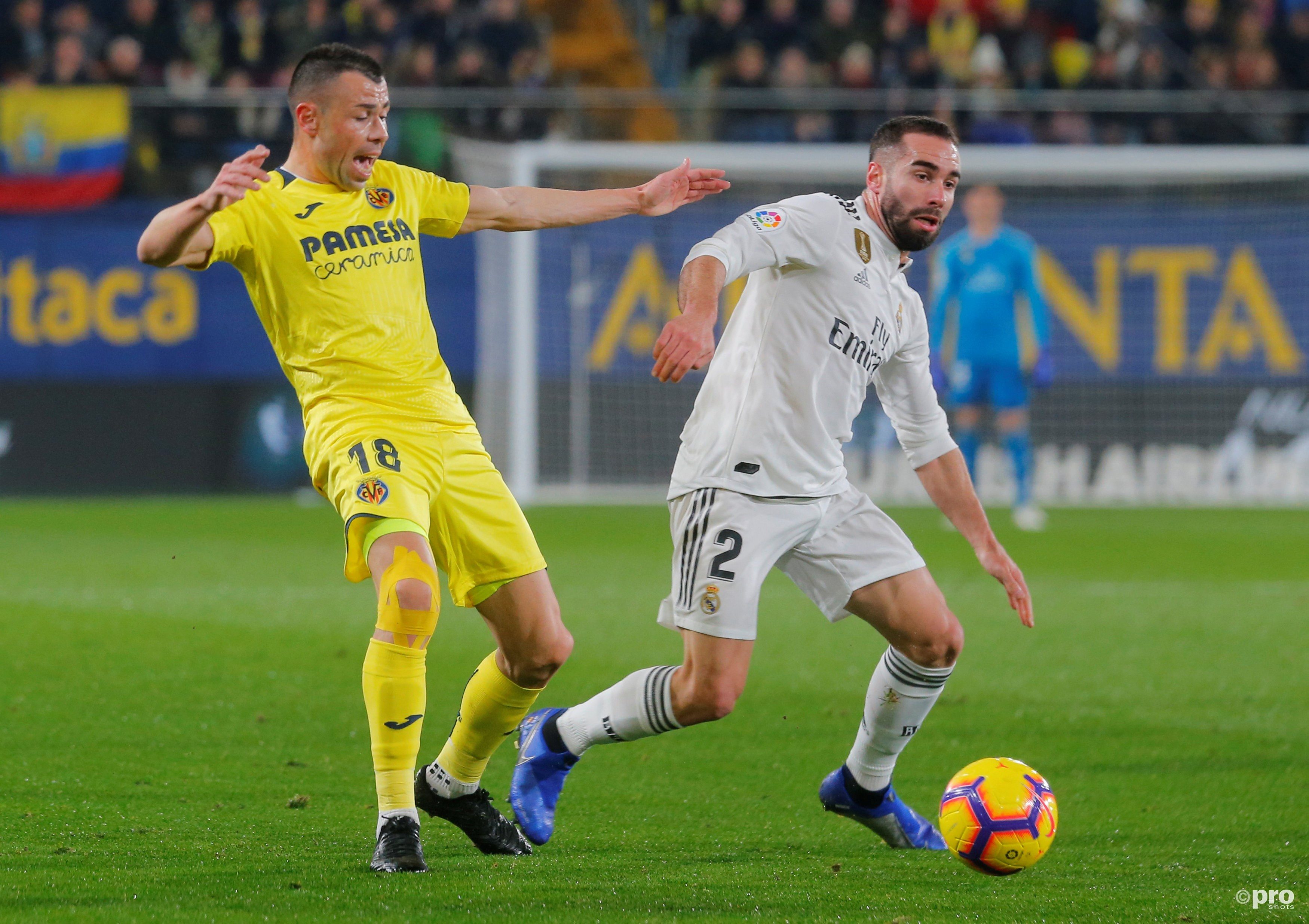 Villarreal - Real Madrid. (PRO SHOTS/Action Images)