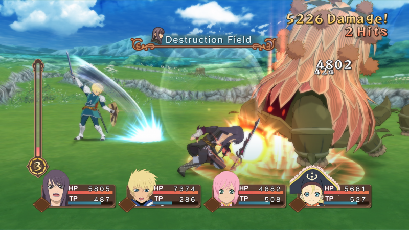 Tales of Vesperia Definitive Edition - Battle (Foto: Bandai Namco)