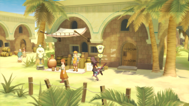 Tales of Vesperia Definitive Edition - Town (Foto: Bandai Namco)