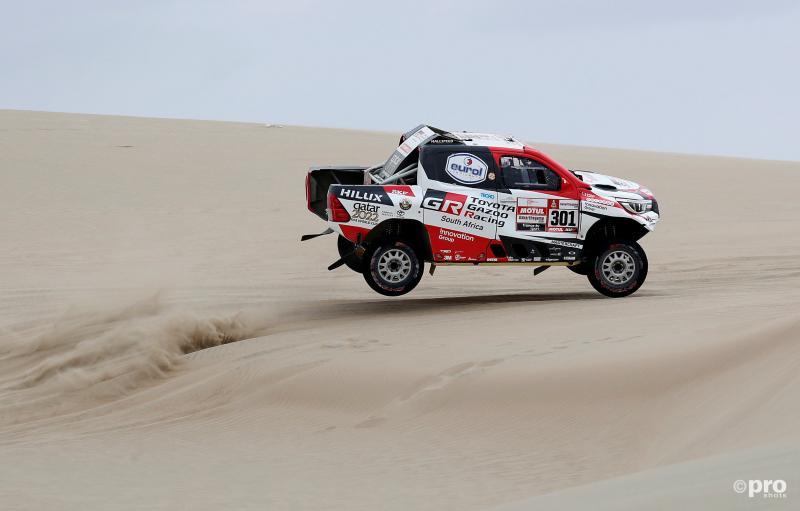 Nasser Al-Attiyah tijdens de etappe van vandaag (Pro Shots / Action Images)