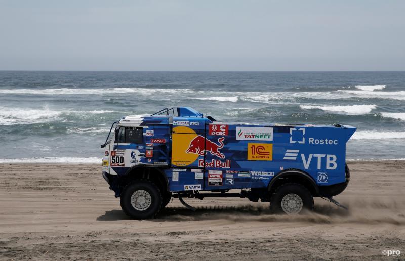 Nikolaev leidt de Dakar ook na de derde dag (Foto: Pro Shots/Action Images)