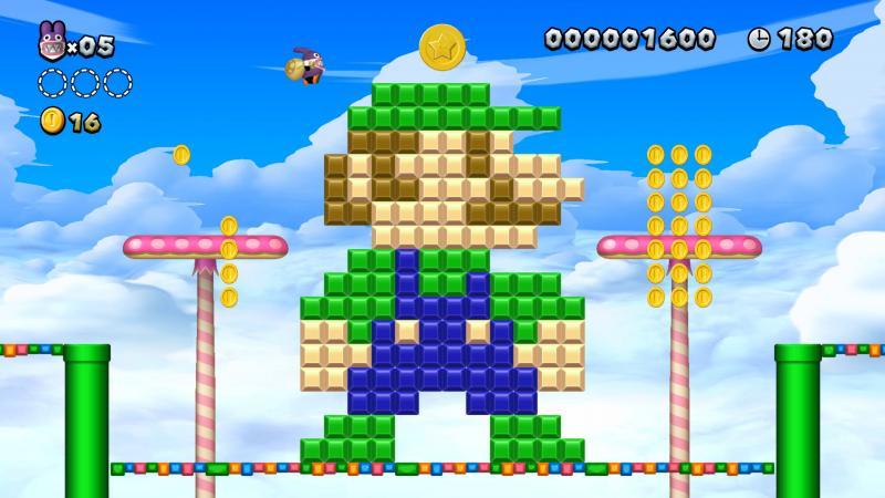 New Super Mario Bros. U Deluxe Nabbit