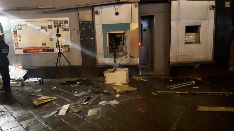Twee arrestaties in onderzoek naar reeks plofkraken (Foto: Politie.nl)