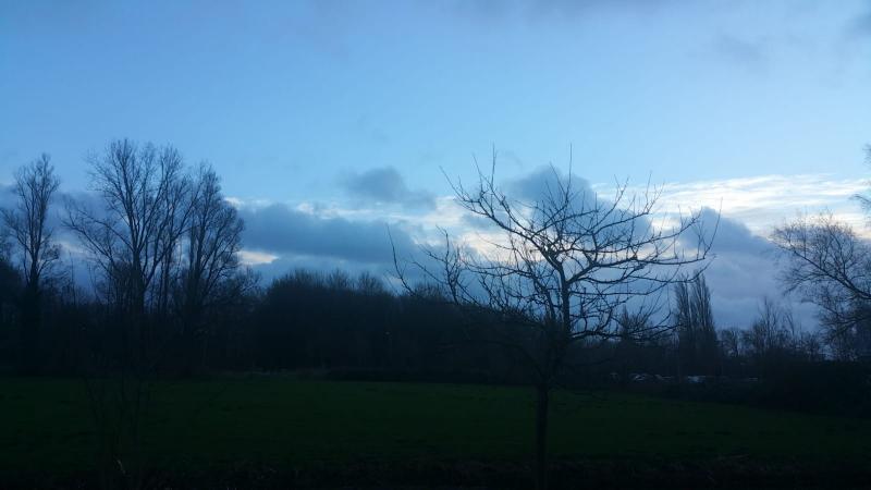 Interpretatie zag fraaie wolken..