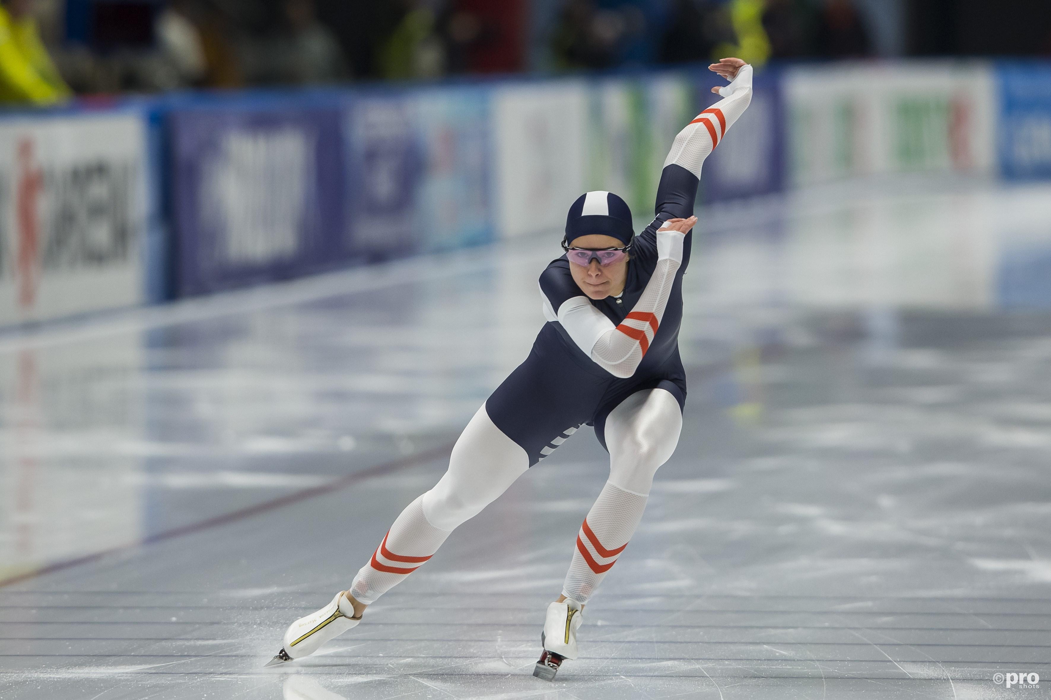 Herzog is Europees kampioen sprint. (PRO SHOTS/Erik Pasman)