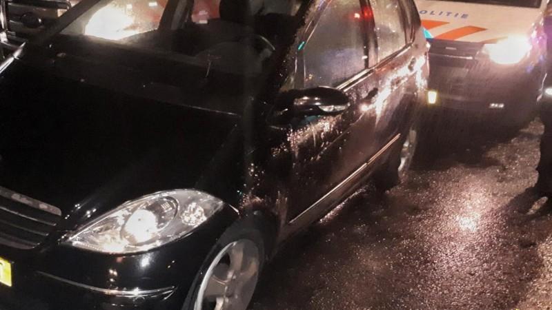 15-jarige joyrider ramt politieauto (Foto: Politie.nl)