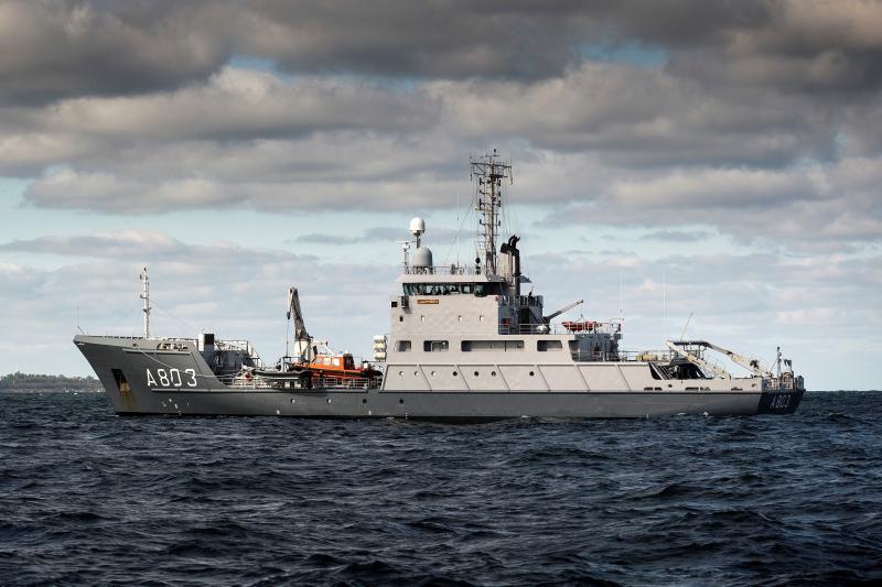 Defensie zoekt mee naar vermiste containers (Foto: Defensie)