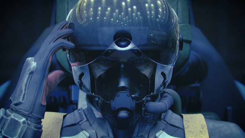 Ace Combat 7: Unknown Skies - Pilot (Foto: Bandai Namco)