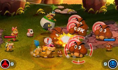 Mario & Luigi: Bowser Jr.'s Journey - Fight (Foto: Nintendo)