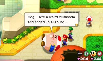 Mario & Luigi: Bowser's Inside Story - Scene (Foto: Nintendo)