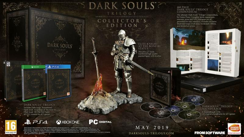 Dark Souls Trilogy Collector's Edition (Foto: Bandai Namco)