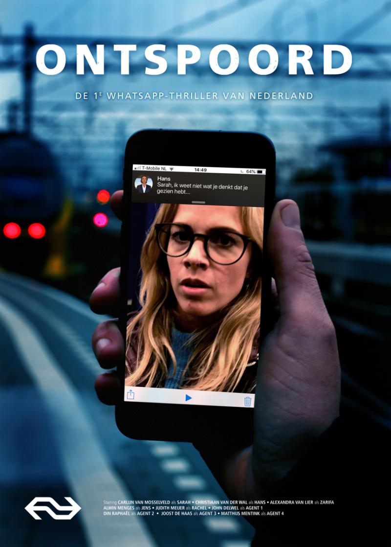 NS lanceert eerste Nederlandse WhatsApp-thriller (Afbeelding: Nederlandse Spoorwegen)