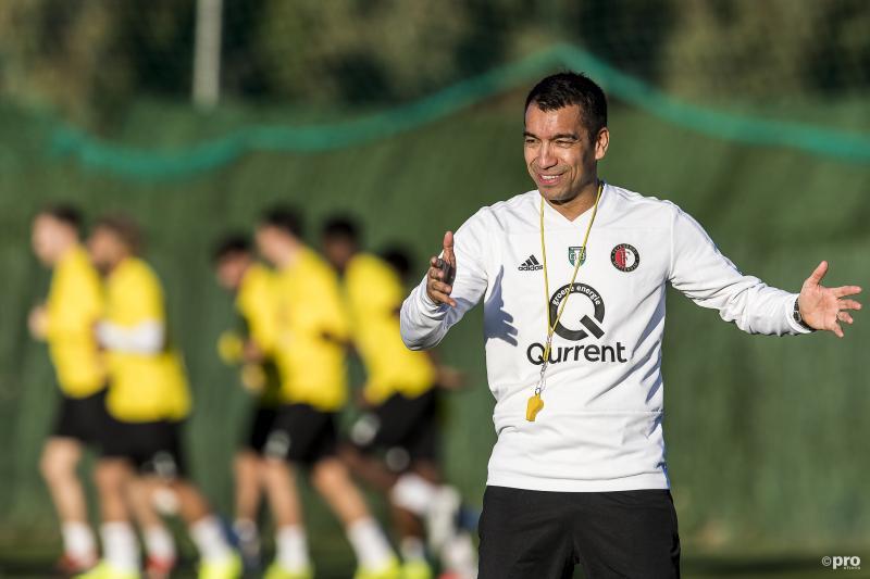 Giovanni van Bronckhorst kondigt vertrek bij Feyenoord aan (Pro Shots / Toin Damen)