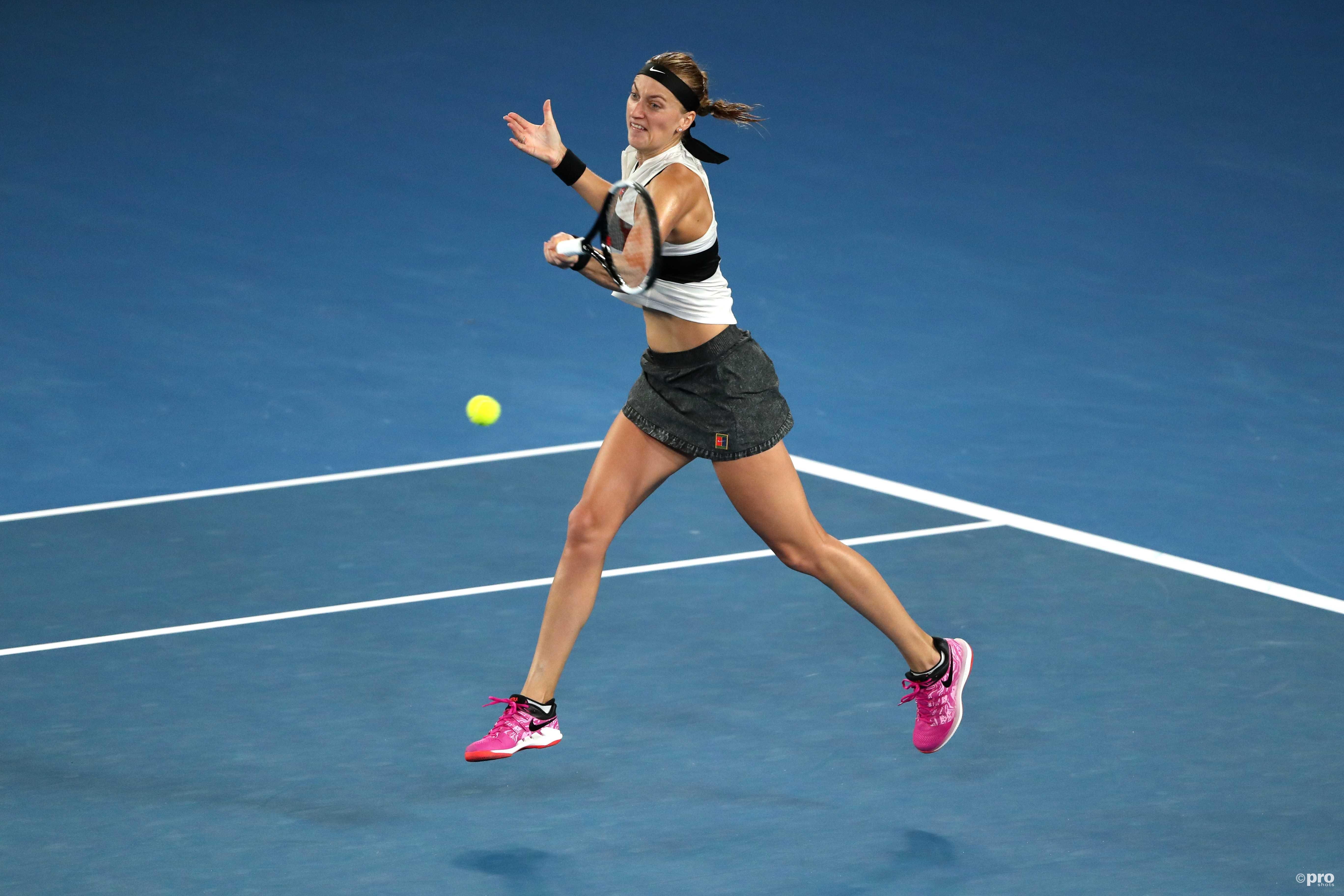 Kvitova slaat zich langs Collins naar de finale (Pro Shots/Action Images)