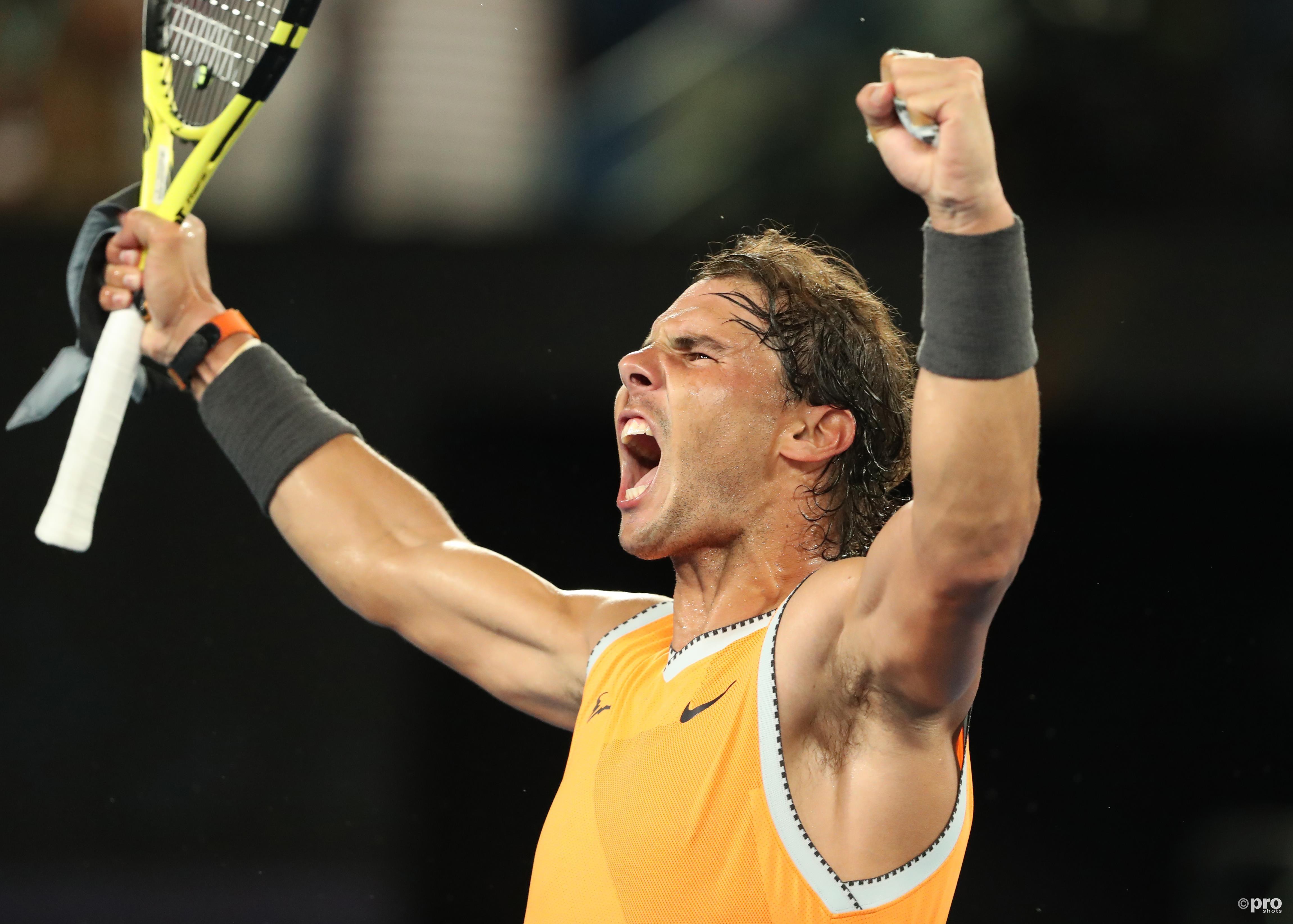 Nadal op weg naar de finale (Pro Shots/Action Images)