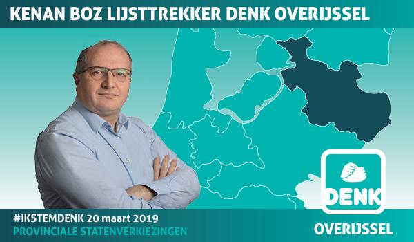 DENK denkt 2 zetels te halen in Overijssel  (Foto: DENK)