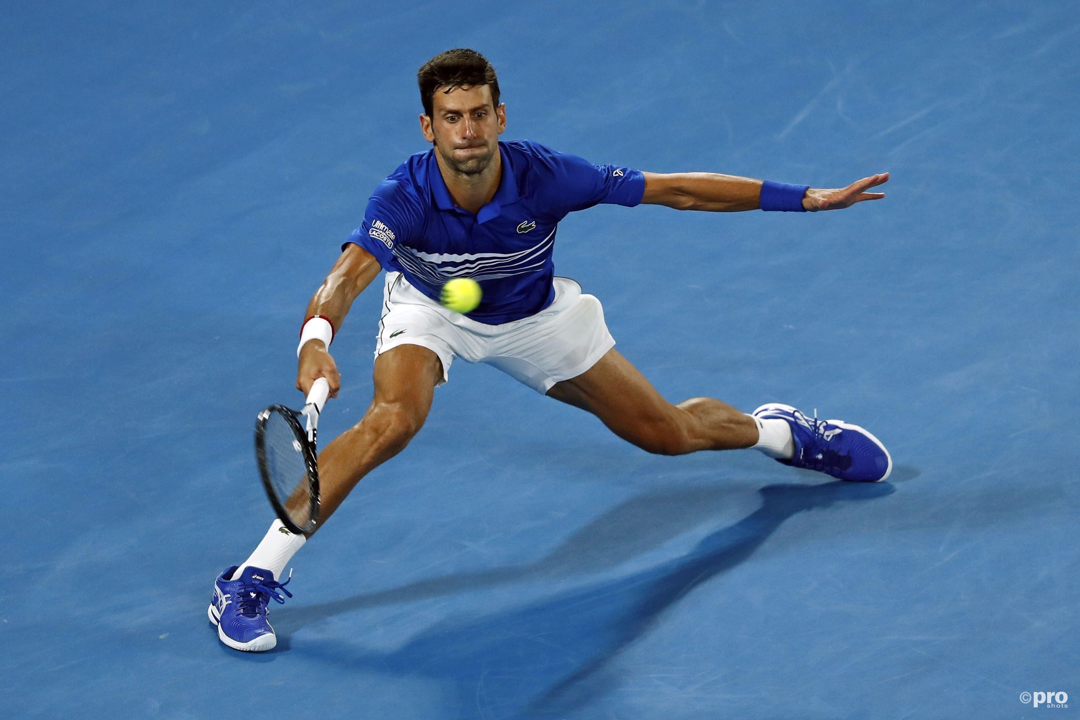 Djokovic speelt Pouille helemaal zoek (Pro Shots/Action Images)