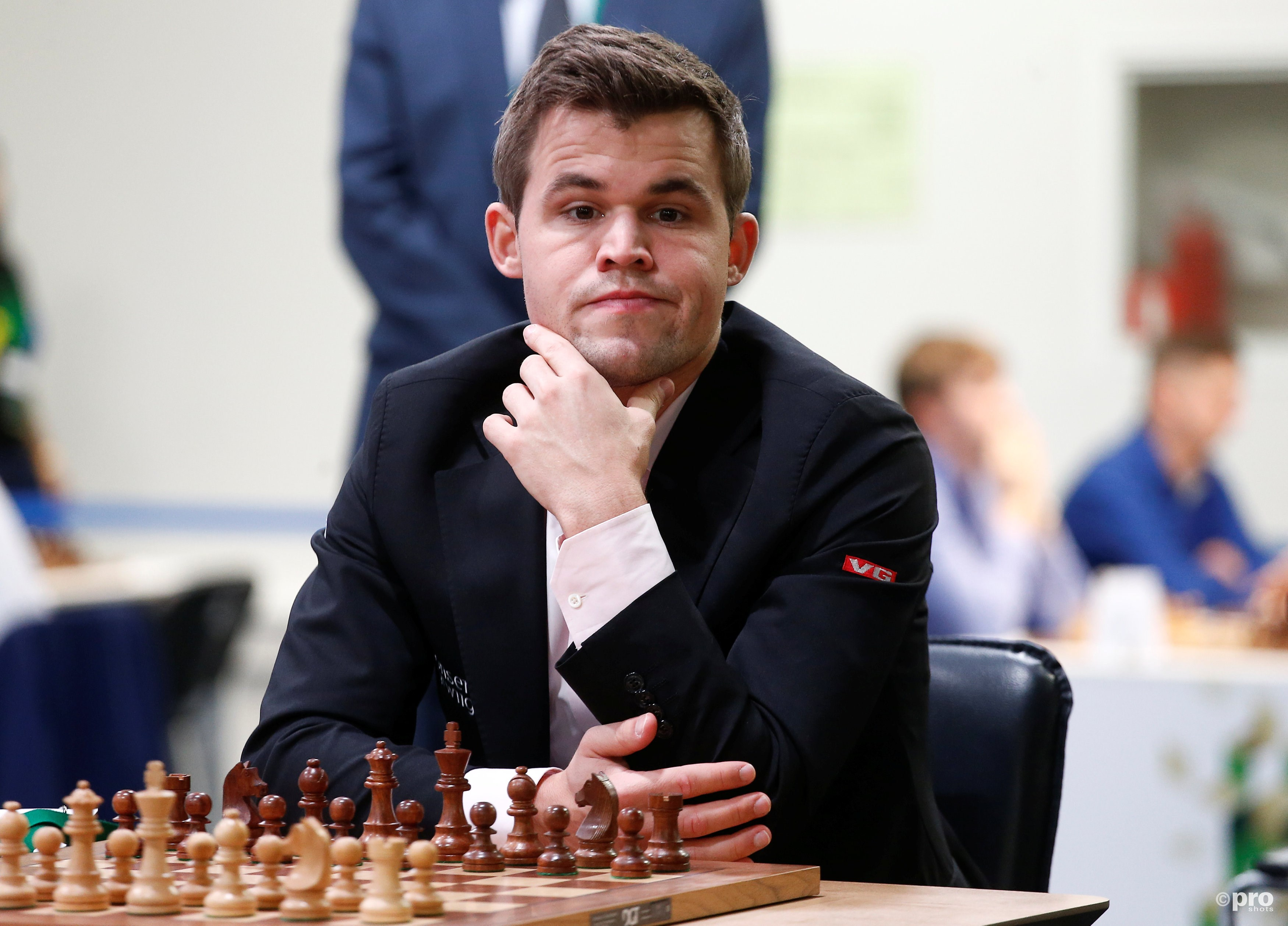Carlsen wint in Wijk aan Zee. (PRO SHOTS/Action Images)