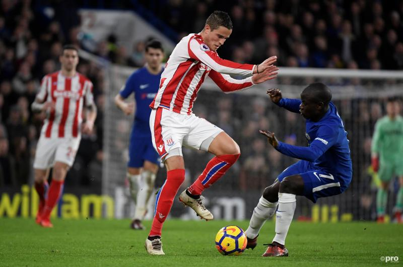 Afellay per direct weg bij Stoke City (Pro Shots / Action Images)