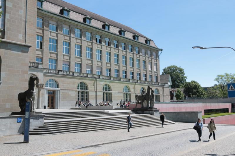 De Universiteit van Zürich (Foto: Pxhere)