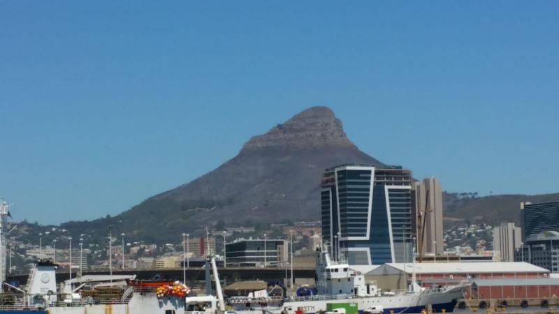 Het is best mooi weer in Zuid-Afrika (Foto: Interpretatie)