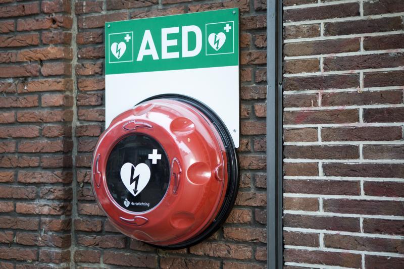 'Een hartstilstand krijg je het liefst in Rotterdam' (Foto: Hartstichting)