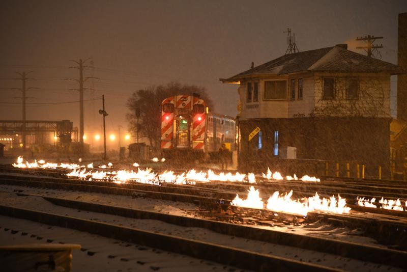 Brandende rails | Metrarail