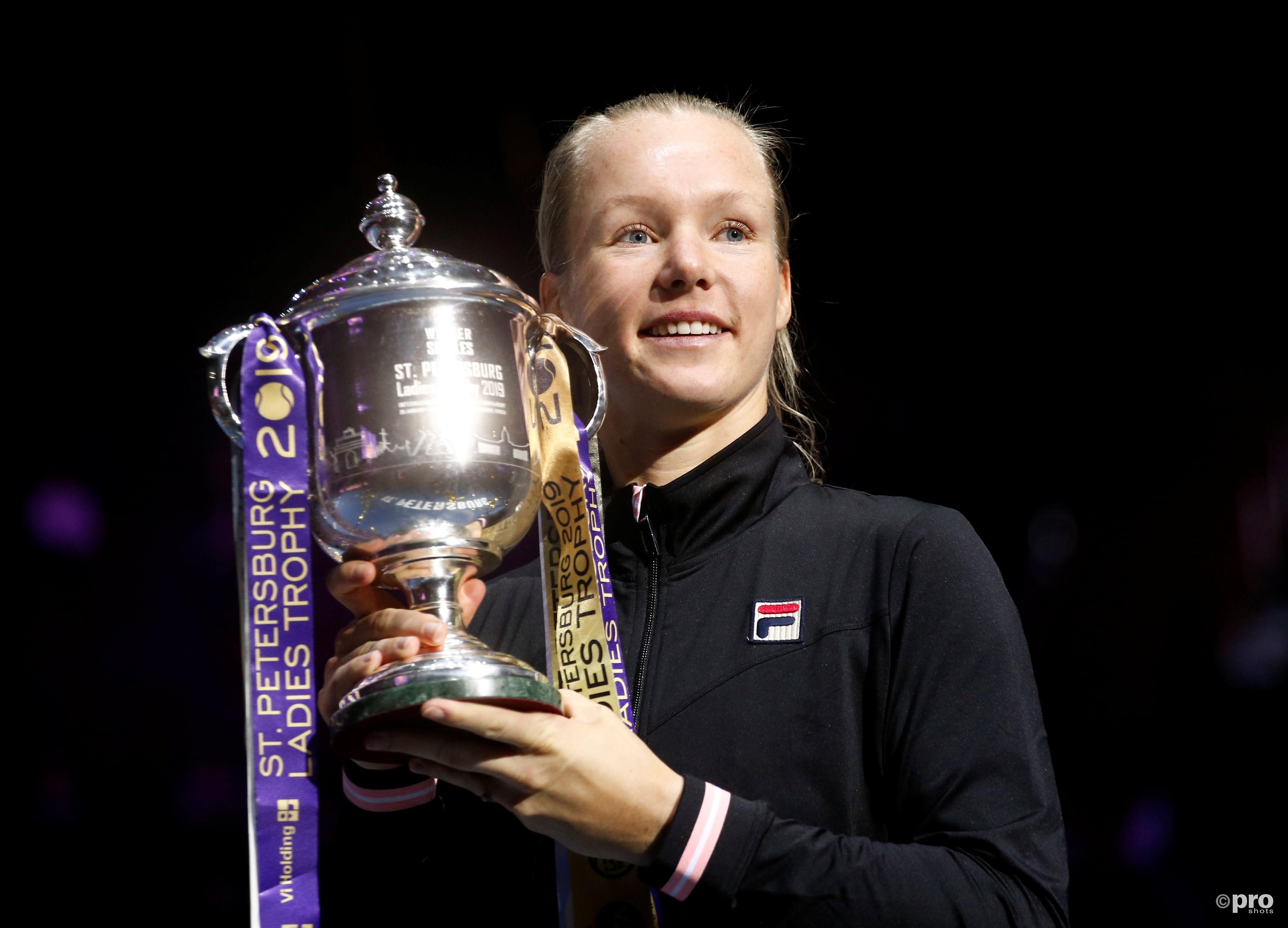 Achtste WTA-titel voor Bertens in Sint Petersburg (Pro Shots / Action Images)