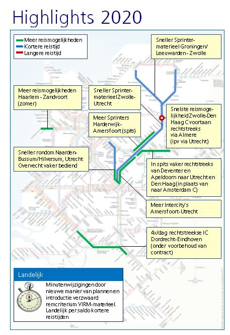NS wil dienstregeling verbeteren (Afbeelding: Nederlandse Spoorwegen)