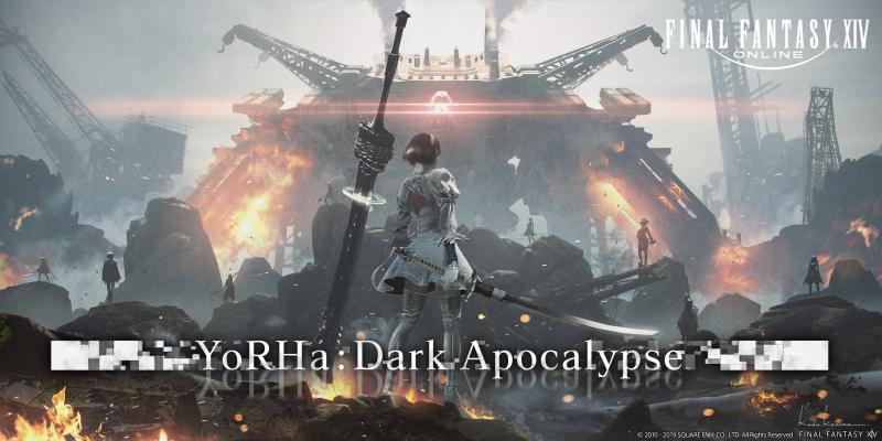 Final Fantasy XIV - Shadowbringers - YoRHa Dark Apocalypse (Foto: Square Enix)