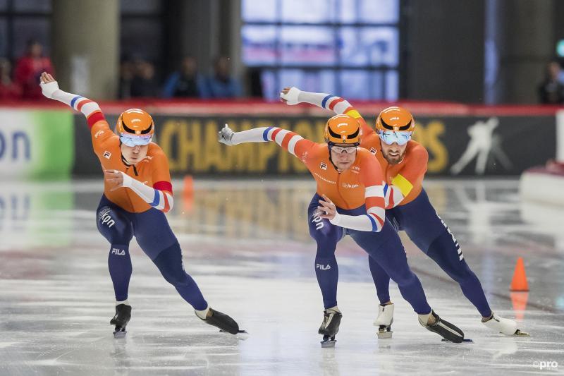 Ook wereldtitel voor Nederlandse schaatsers op teamsprint (Pro Shots / Erik Pasman)