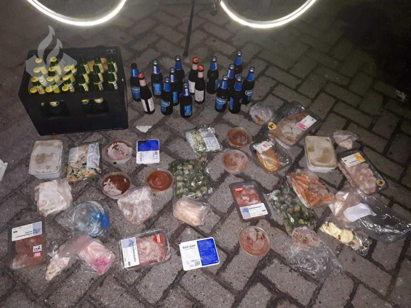 Politie pakt hongerige dief op (Foto: Politie Helmond)
