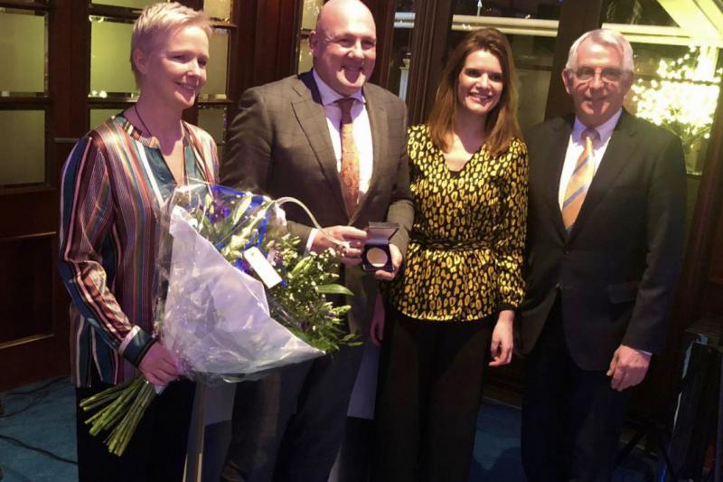 André Kuipers krijgt 1e ruimtevaarterepenning (Foto: Defensie)