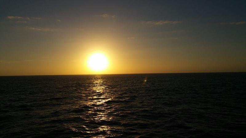 Prachtige plaatje van de zee. (Foto: Interpretatie)