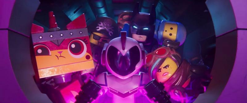 The LEGO Movie 2: Sweet Mayhem en passagiers