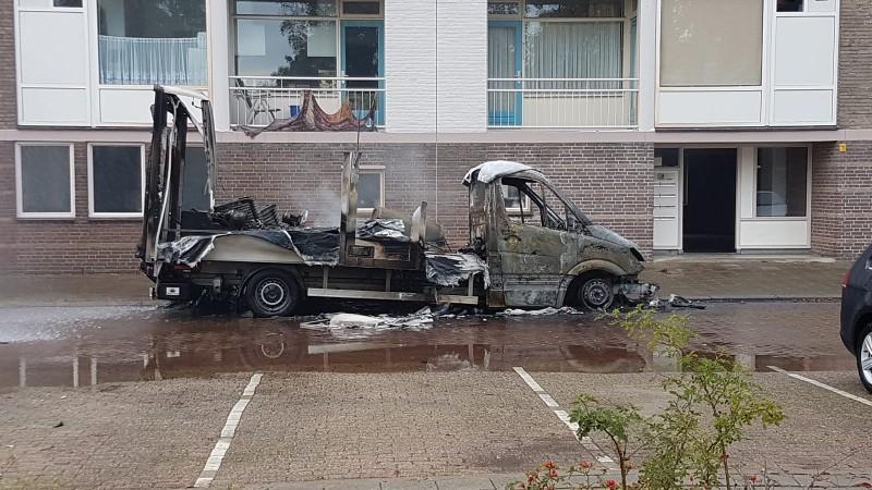 Politie pakt 2 mannen op voor verbranden synthetisch drugsafval (Foto; Politie)