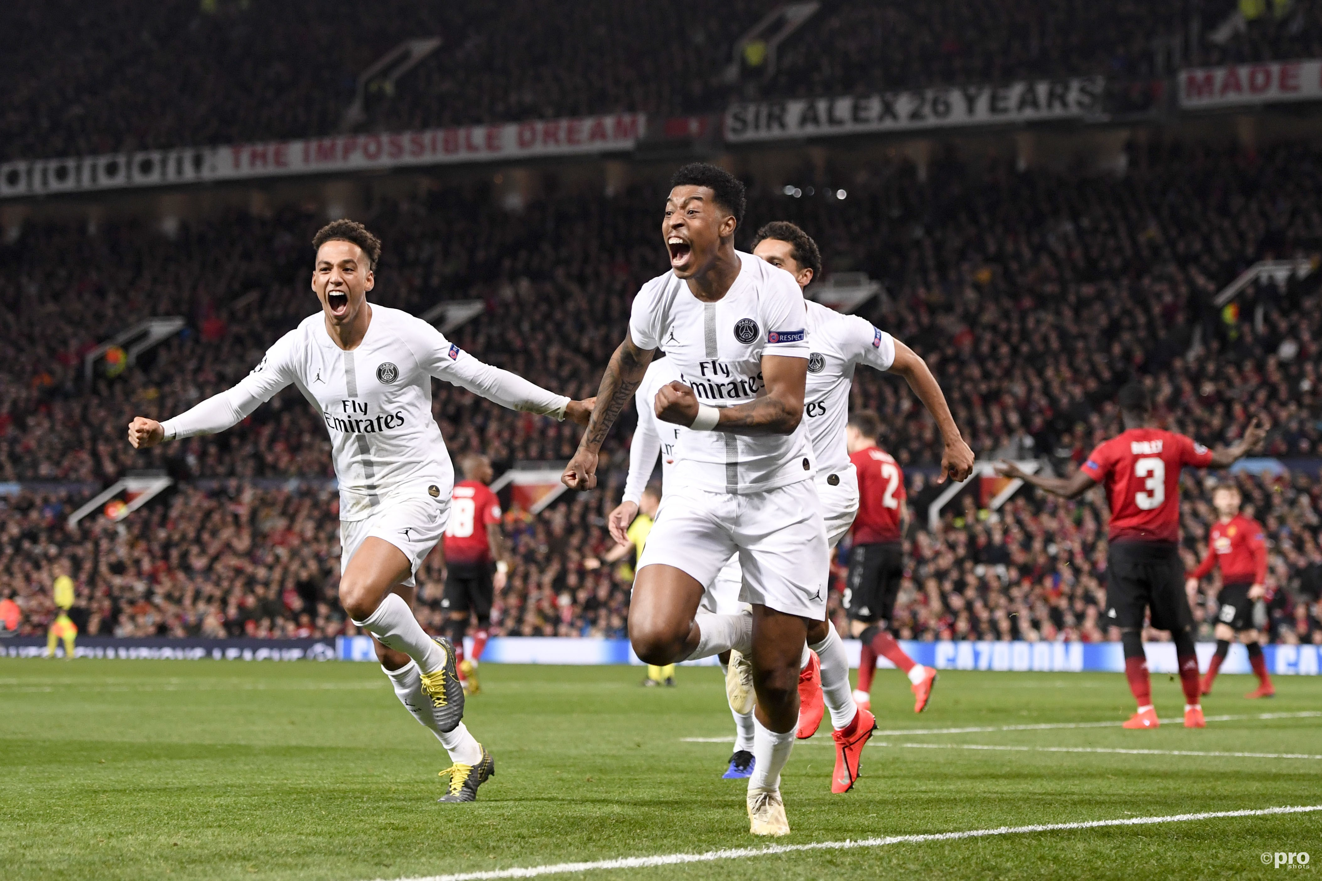 PSG wint van Manchester United. (PRO SHOTS/Panoramic)