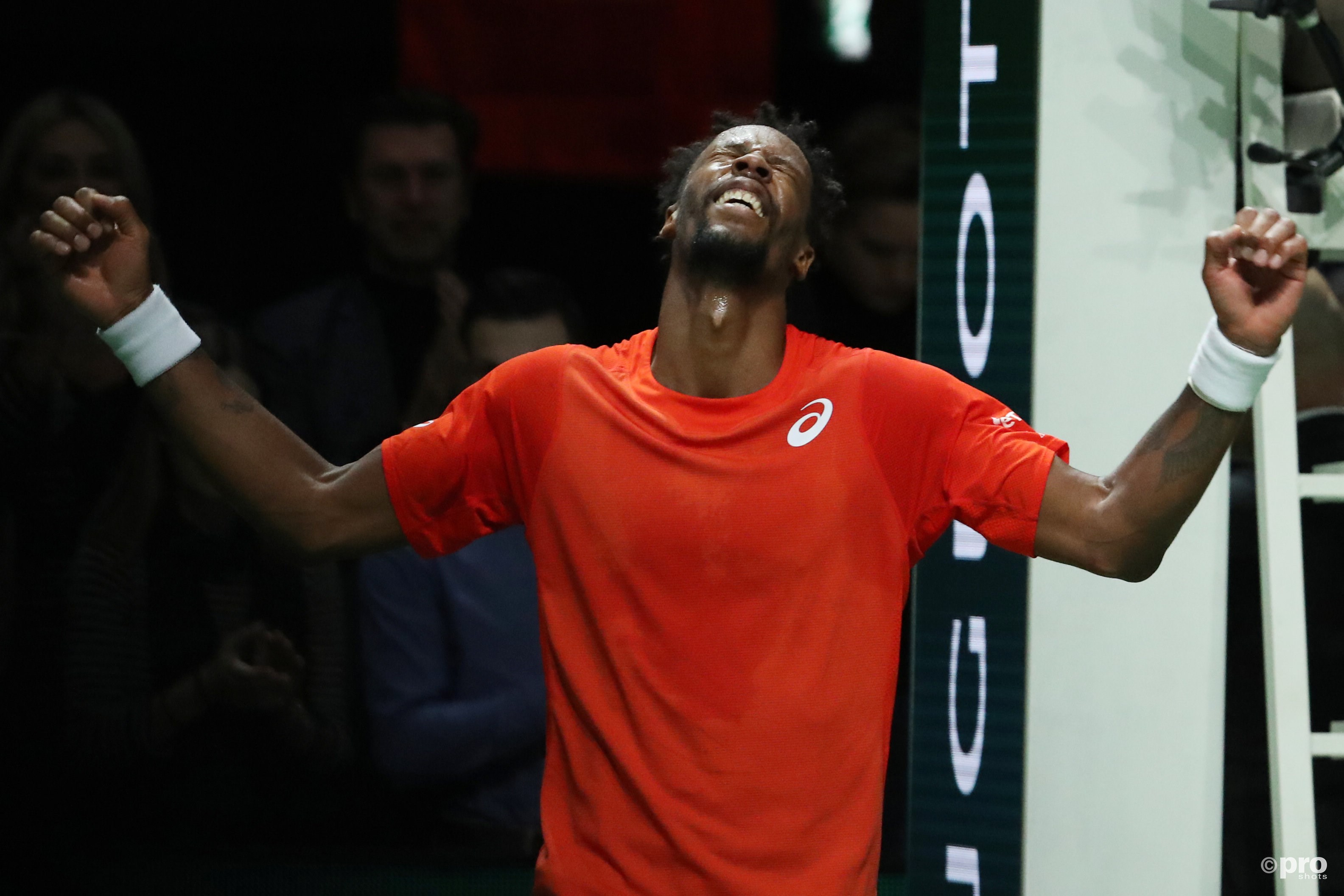 Monfils wint in Rotterdam. (PRO SHOTS/Action Images)