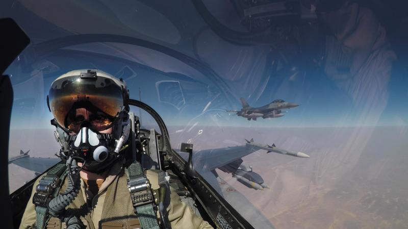 Missie F-16: onze strijd tegen terrorisme'