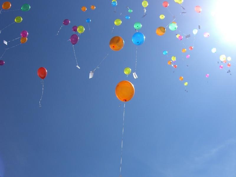 Den Haag verbiedt ballonnen