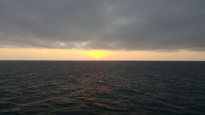 Op de Oceaan. (Foto: Interpretatie)