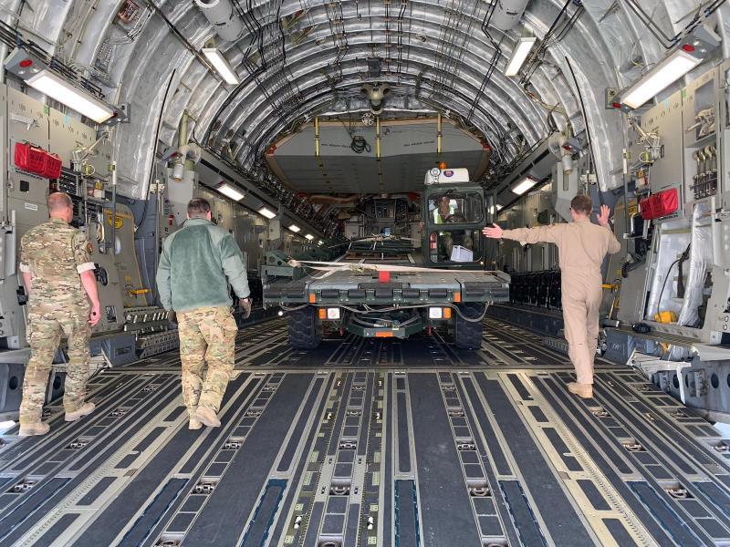 Luchtmacht volledig uit Jordanië (Foto: Defensie)