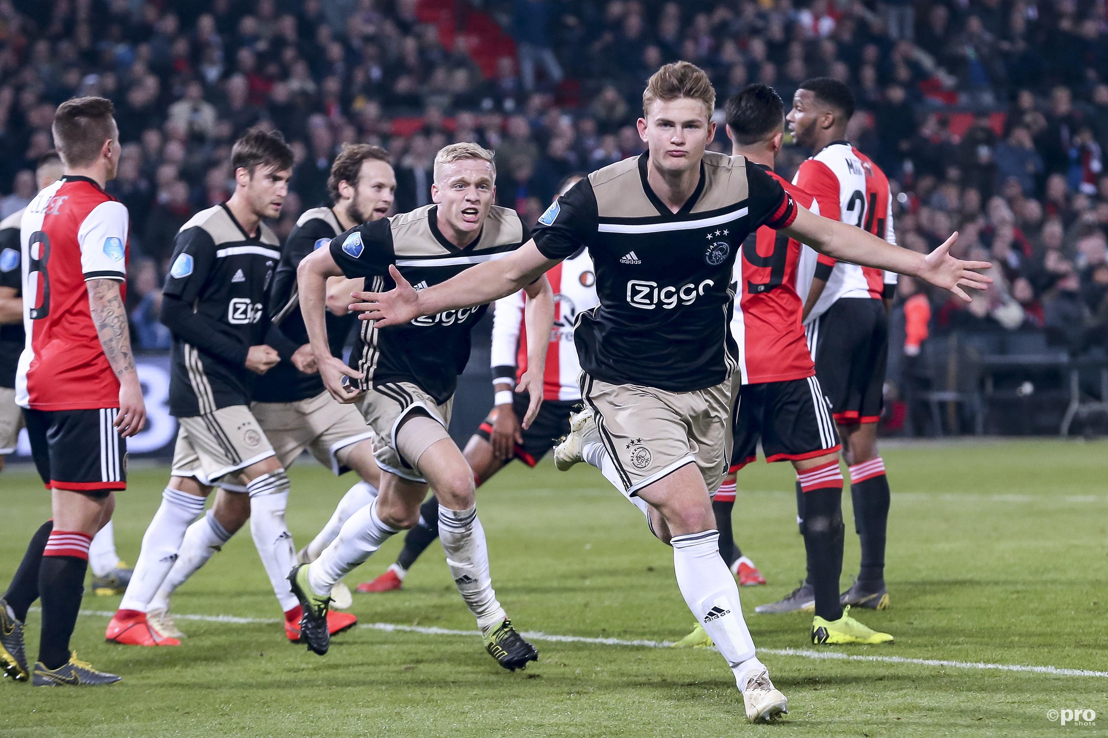 Ajax neemt revanche op Feyenoord en bereikt bekerfinale (Pro Shots / Kay Int Veen)